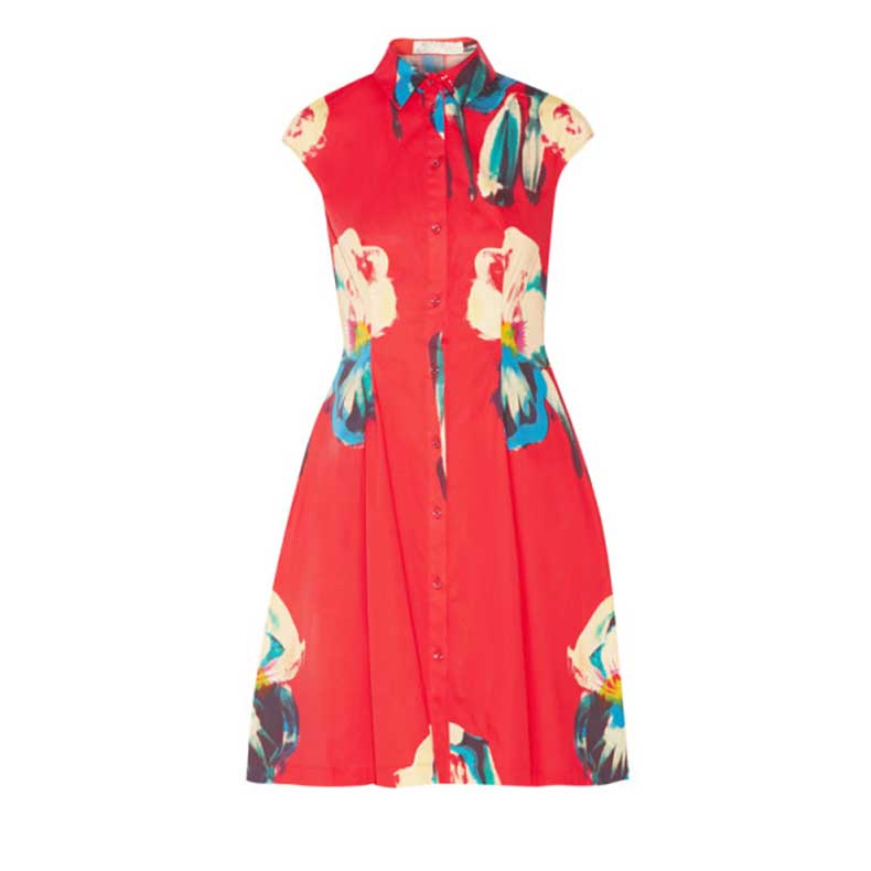 lela-rose-floral-print-shirt-dress-600x600