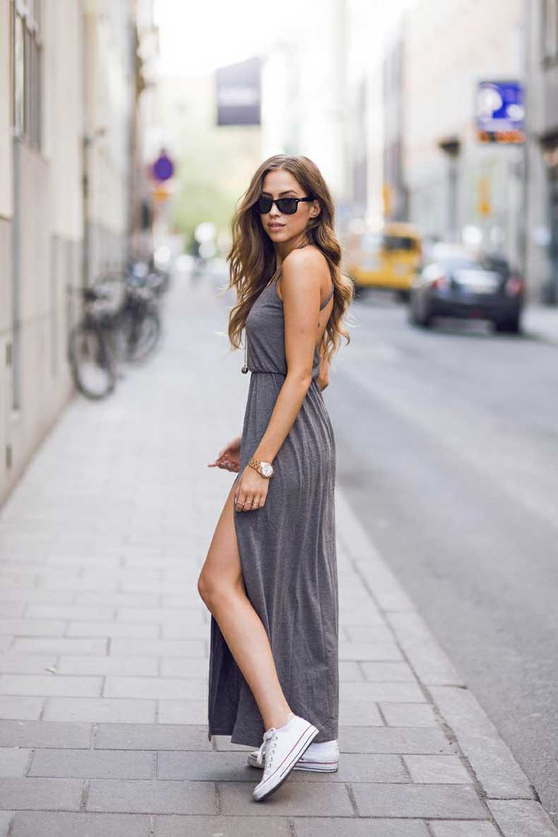light-gray-maxi-dress