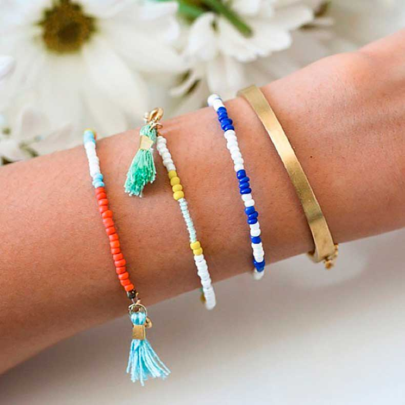 Easy-Beaded-Bracelets