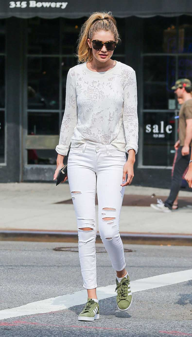 Gigi-Hadid-Wearing-Sneakers