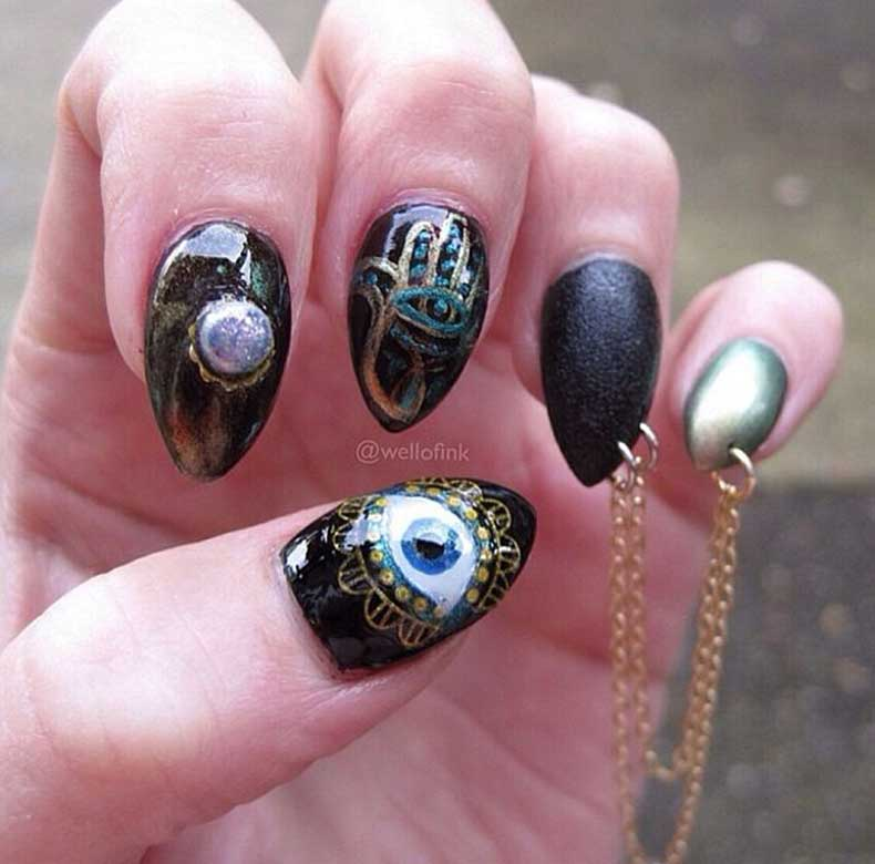 Grunge-Nails