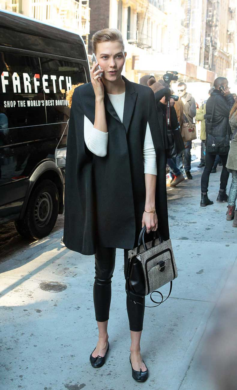 Karlie-Kloss-skipped-typical-coat-favor-poncho-chilly