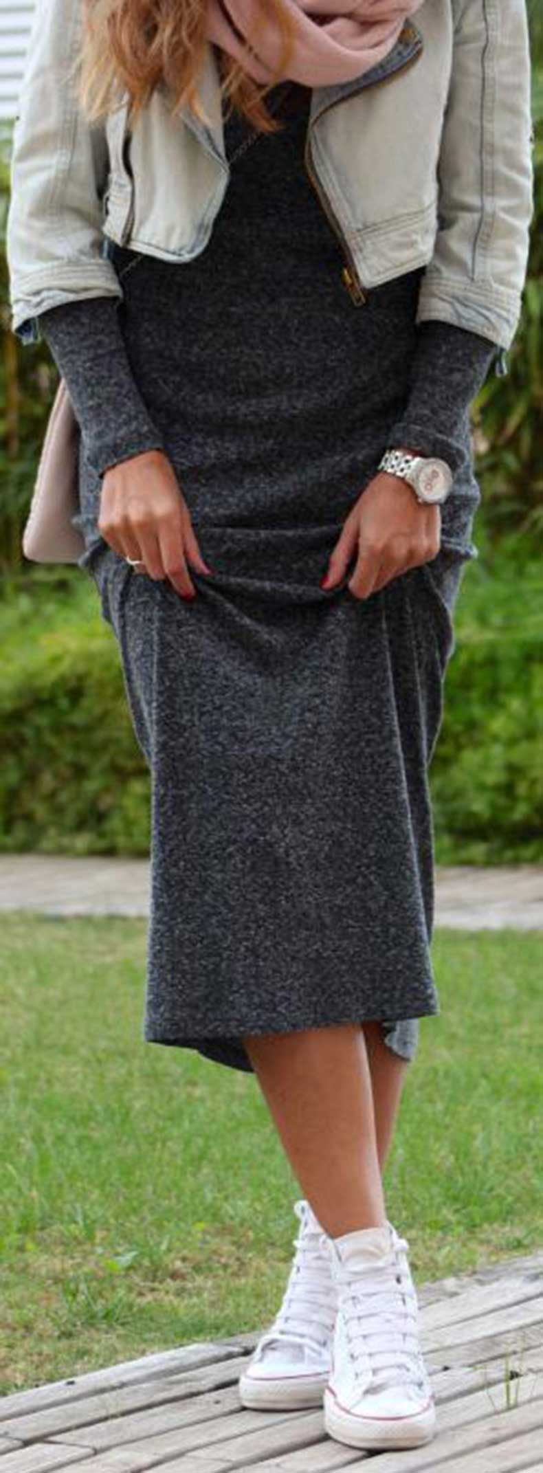 Maxi-Dress-Converse-Sneakers-Outfit