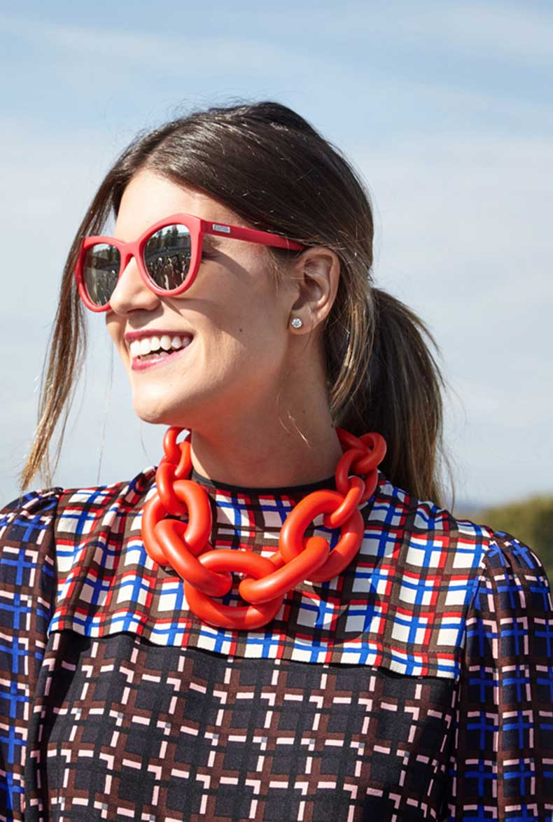 Paris-Fashion-Week-SS16-Street-Style-Adorn-Jewellery-Blog-Orange-chunky-chain