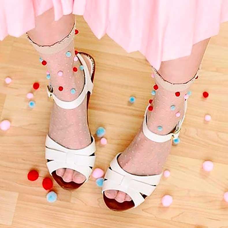 Pom-Pom-Socks