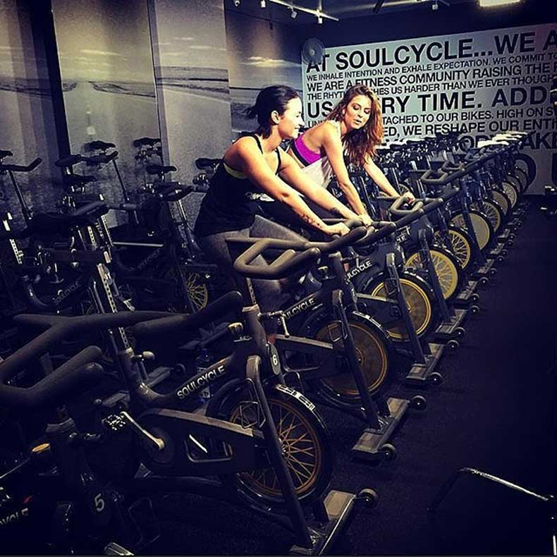 SoulCycle-Demi-Lovato