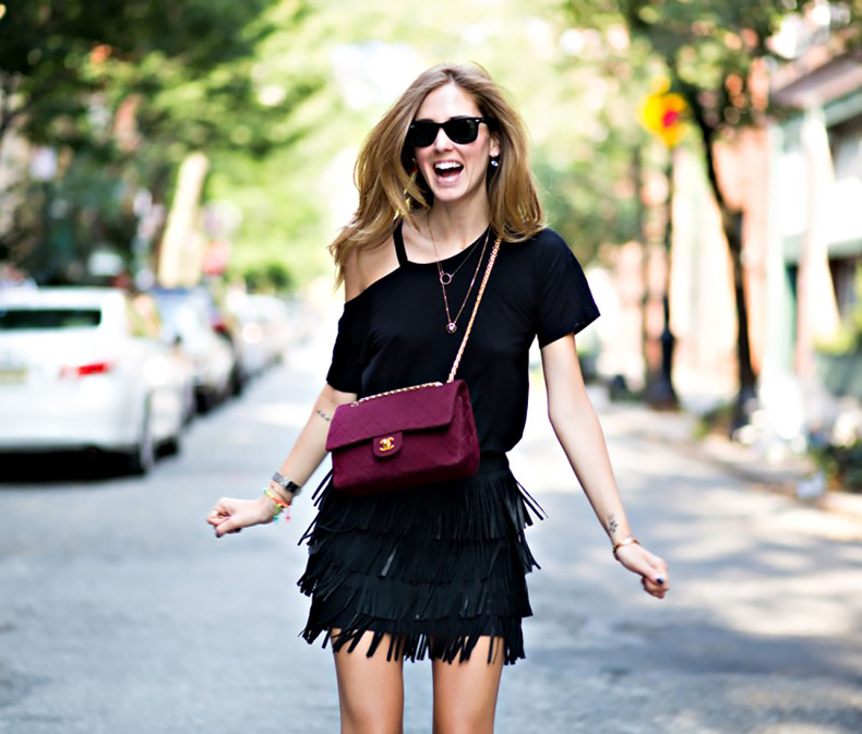 black-leather-fringed-skirt-fringing-street-style-nyc-hot-fashion-trend-
