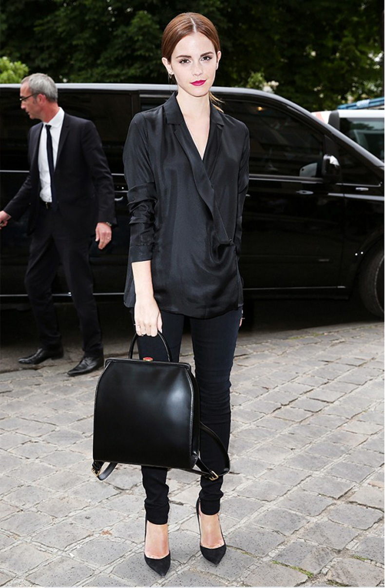 emma-watson-all-black-going-out-evening-party-night-out-skinny-black-pants-nye-casual-via-whowhatwear