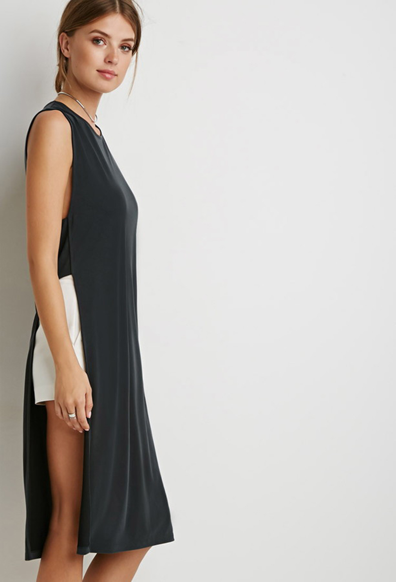 forever-21-f21-contemporary-caged-armhole-high-slit-tunic