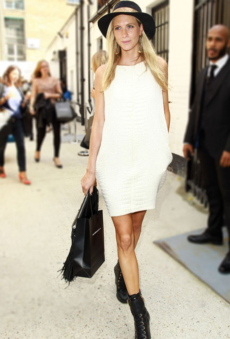 la-modella-mafia-poppy-delevingne-model-off-duty-street-style-in-a-white-crocodile-dress-and-black-combat-boots