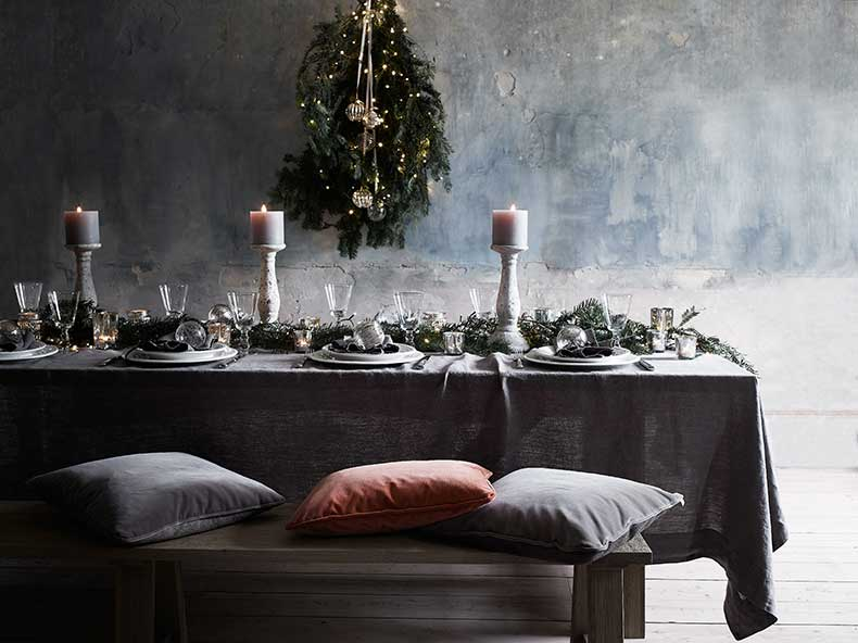 neptune-christmas-table-bench-velvet-cushions-grey-orange-red-online