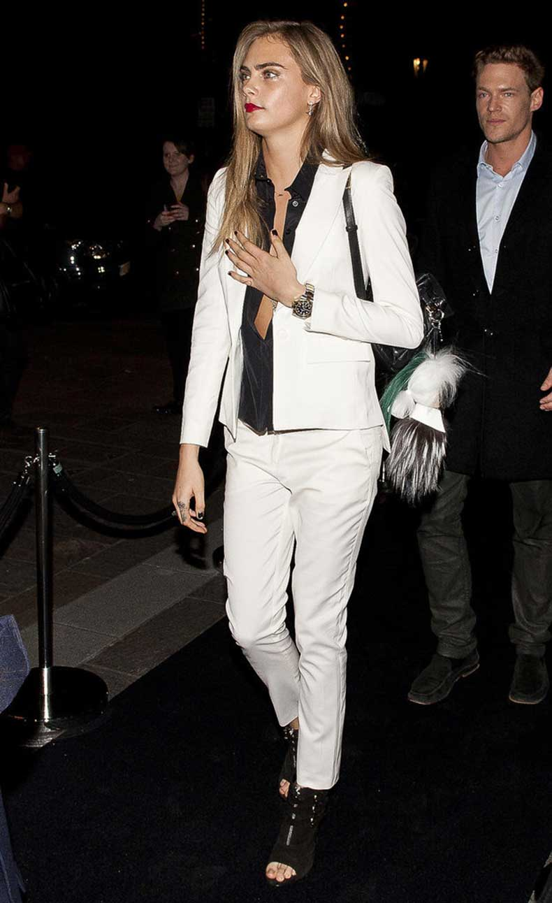 night-out-London-Cara-Delevingne-skipped-cocktail-dress
