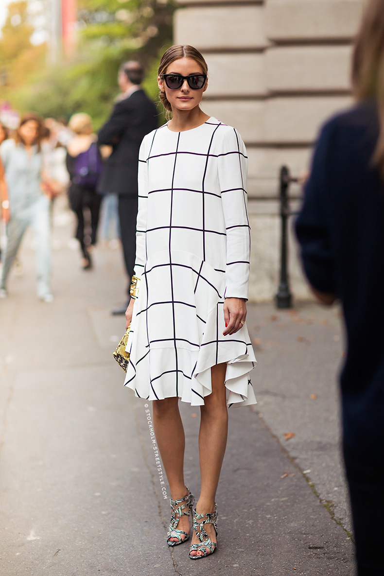 olivia-palermo-black-grid-white-dress-trend-chloe1