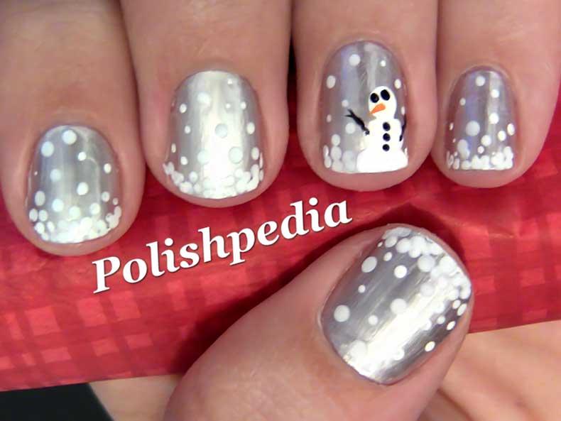 snow-man-nail-art