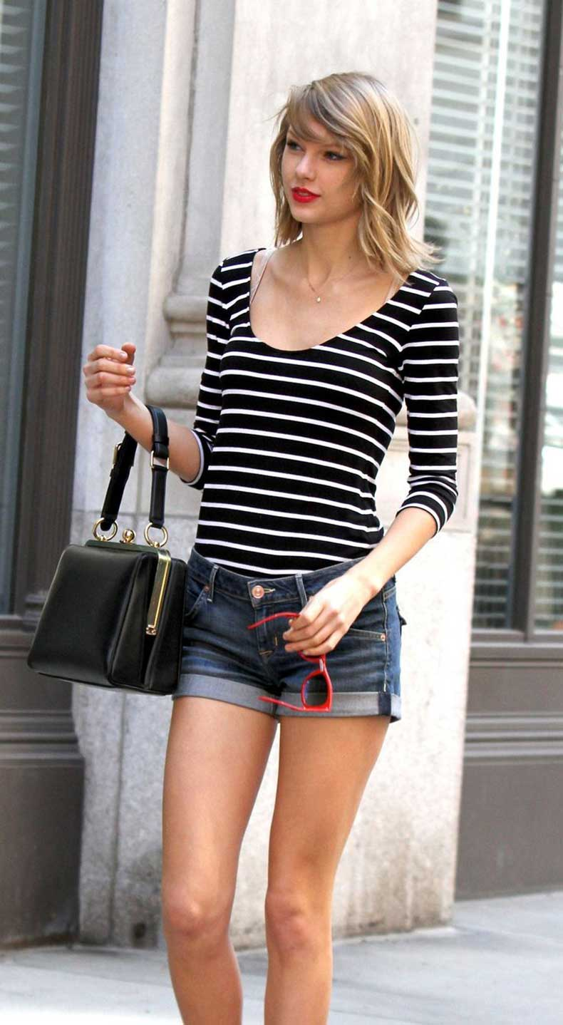 taylor-swift-striped-top