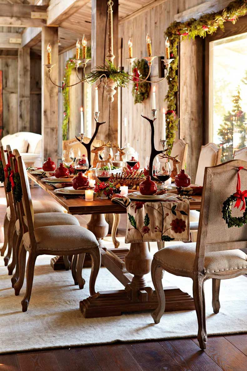 via-blog.styleestate.com-christmas-table-wreath-garland-chandilier-deer-ornaments-table-runner-red-online