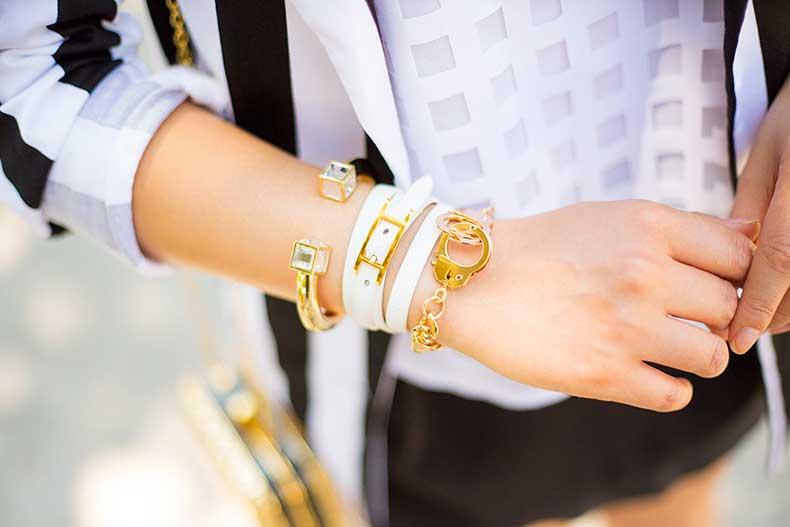 An-Dyer-wearing-Shop-Publik-hinged-Cuff-Hermes-Hapi-3mm-Bracelet-Gold-Handcuff-Bracelet