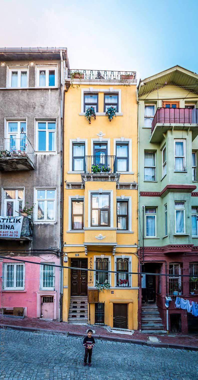 Balat-Istanbul-Turkey