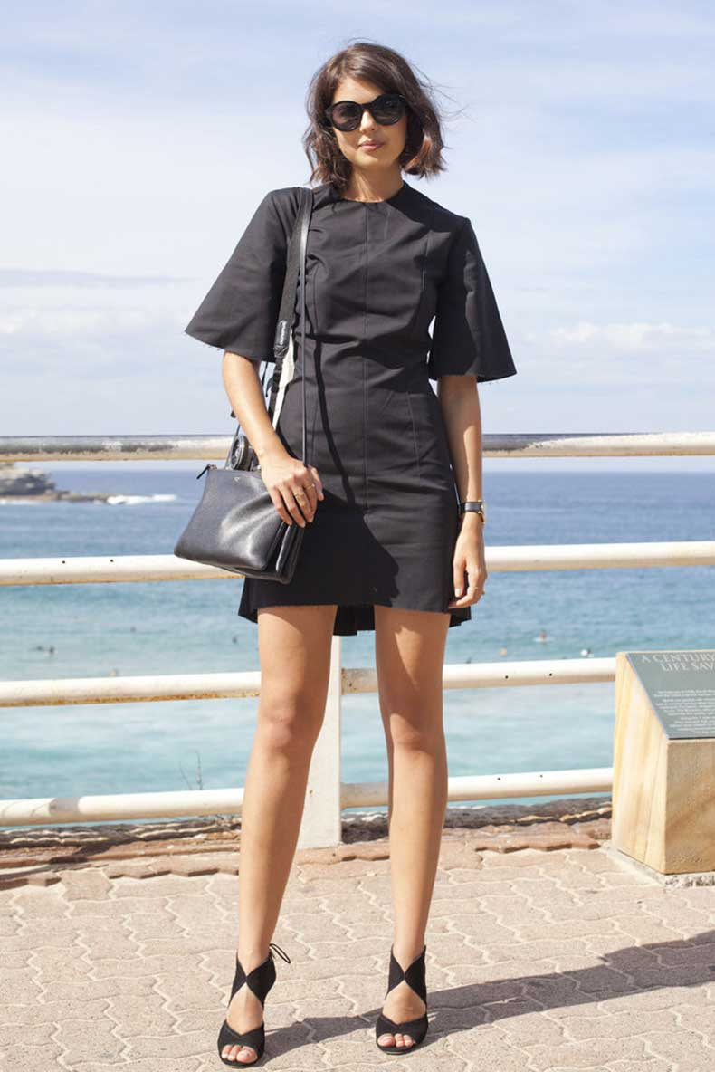 Bring-your-Summer-LBD-work-pair-sophisticated-sandals