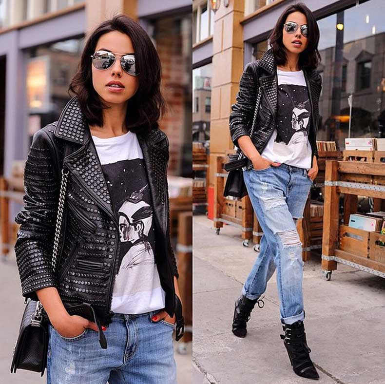 Fall-Leather-Jacket-T-shirt-Jeans