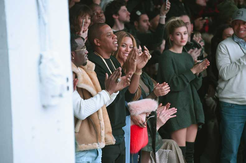 Hailey-Had-Front-Row-Seat-Kanye-Fashion-Show