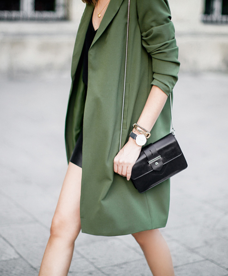 Le-Fashion-Blog-Ways-To-Wear-Green-Jacket-Fall-Winter-Style-Duster-Coat-Leather-Skirt-Shoulder-Flap-Bag-Via-Fashion-Agony