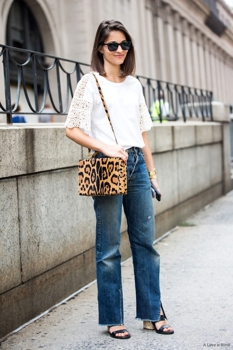 cropped-flairs-mom-jeans-frayed-hem-jeans-sandals-leopard-print-box-purse-crochet-shirt-weekend-maria-duenas-jacobs-casual-via-a-love-is-blind