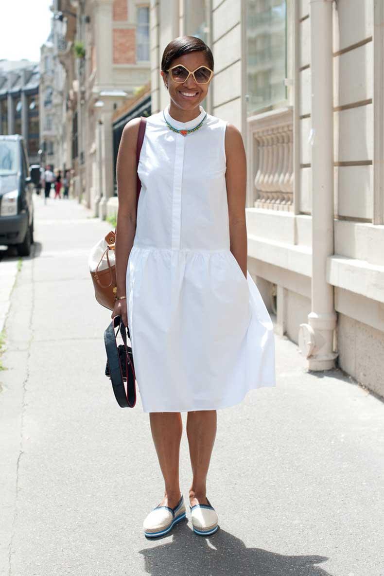 feminine-white-sundress-gets-dose-menswear-inspired-cool-via