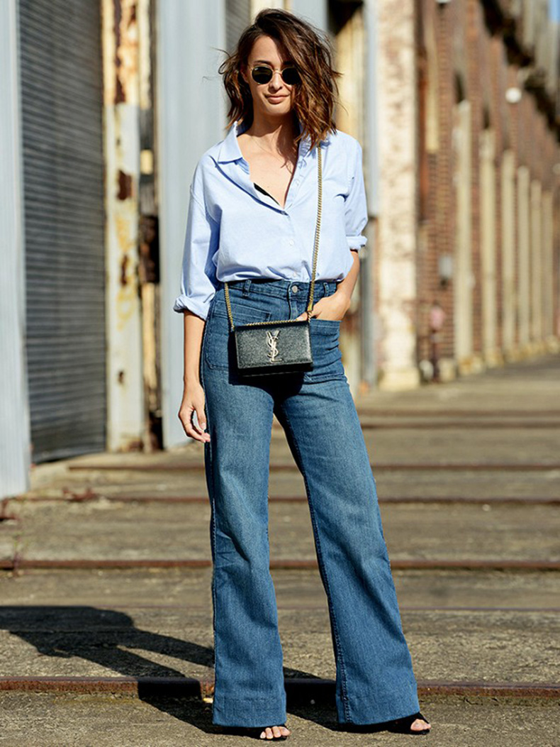 flare-jeans-button-up-shirt-mens-oxford-shirt-flares-crossbody-bag-sss
