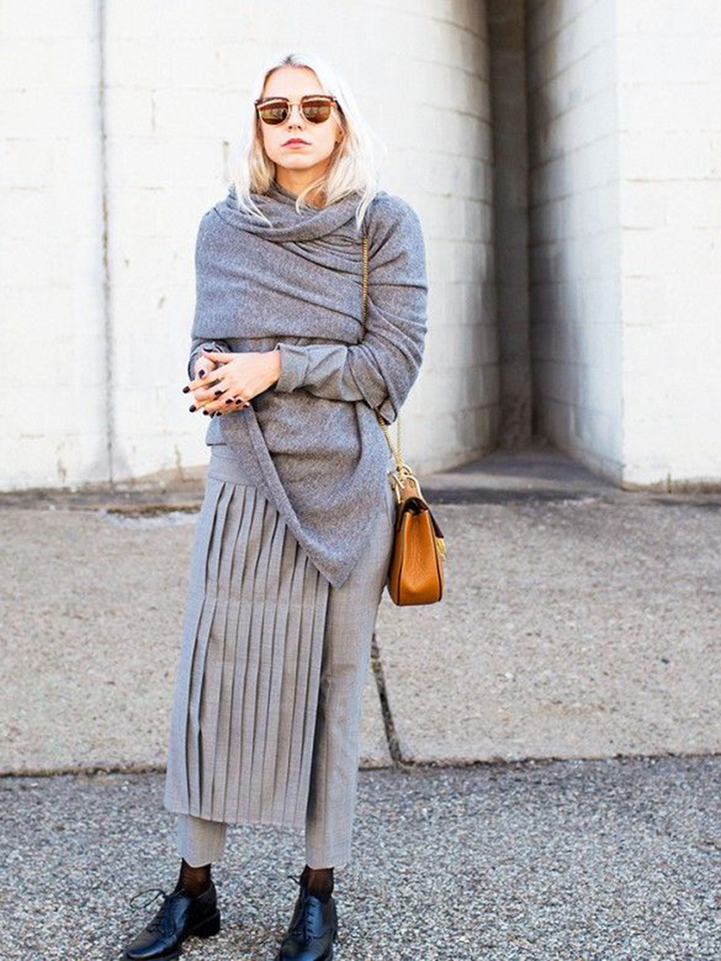 grey-monochromatic-groutfits-dress-over-pants-skirt-over-pants-apron-pants-skirt-wrap-sweater-winter-work-www