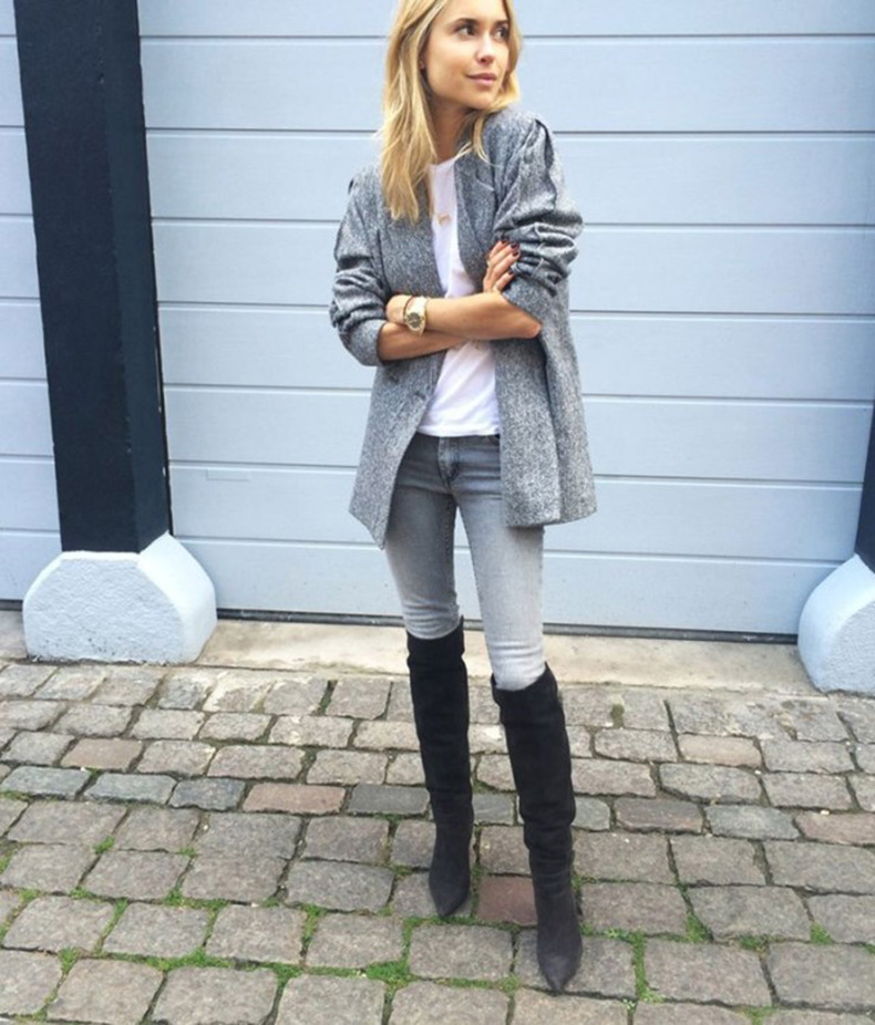 grey-monochromatic-groutfits-sweater-coat-black-over-the-knee-boots-look-de-pernille-640x750