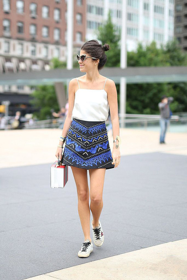 sneakers-and-miniskirt
