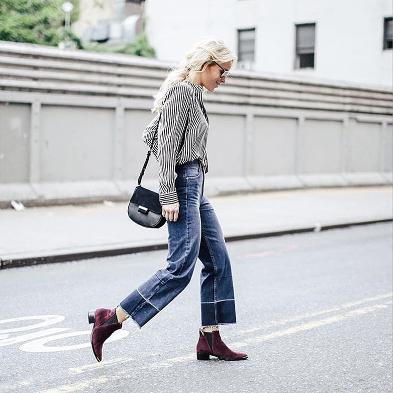 Adding-Punch-Color-Jeans-Simple-Top