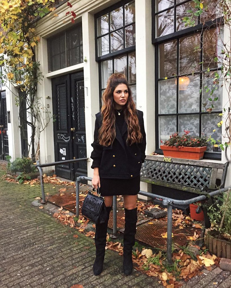 Black-Blazer-Thigh-High-Boots