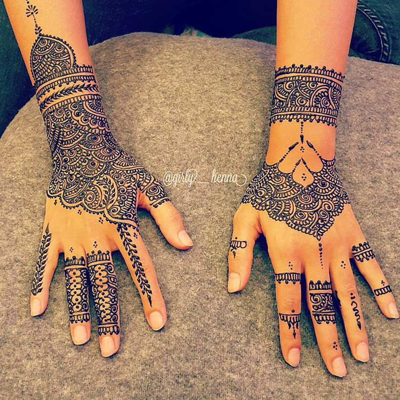 Bridal-Henna-time-ماشاءلله-video-posted-Queen39s-Henna