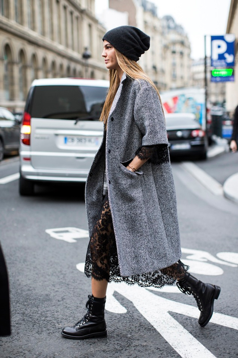 Le-Fashion-Blog-Bianca-Brandolini-DAdda-Paris-Street-Style-Beanie-Hat-Lace-Dress-Combat-Boots-Via-A-Love-Is-Blind