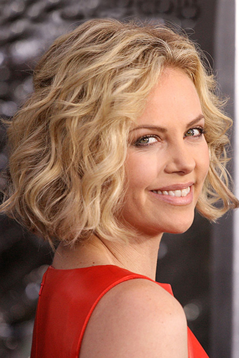 charlize-theron-curly