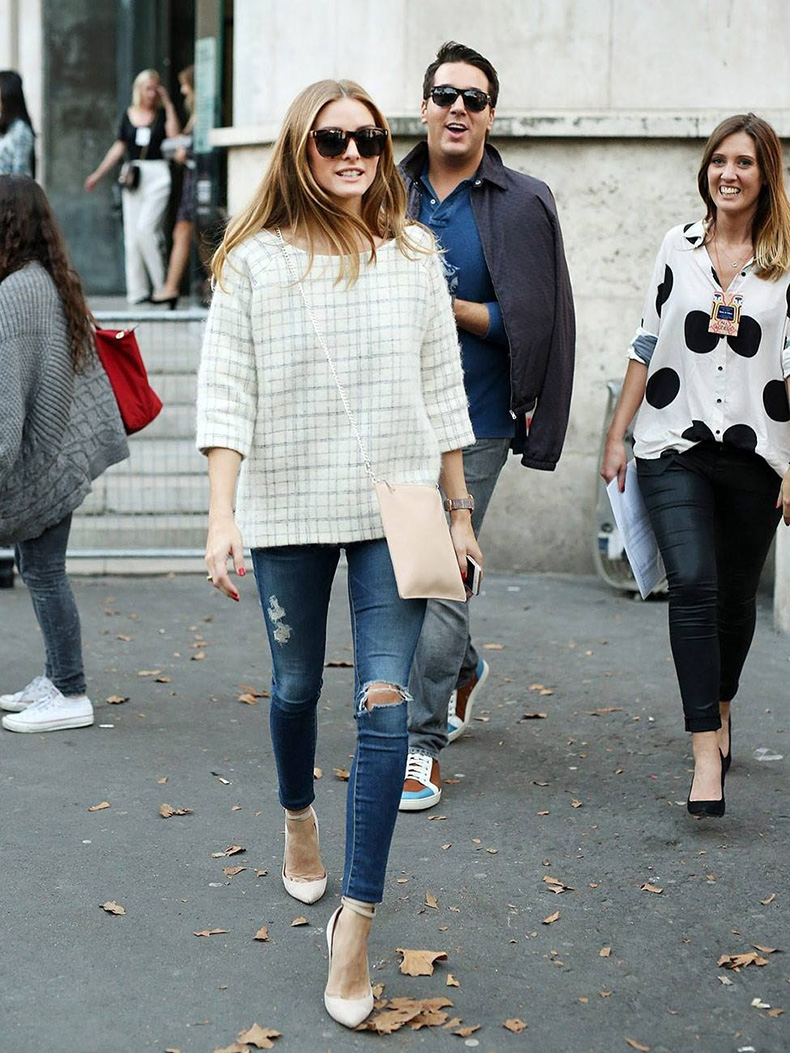 distressed-denim-ankle-strapheels-plaid-fuzzy-shirt-blush-nude-accents-pink-via-oliviapalermofashionstyle.tumblr.com_