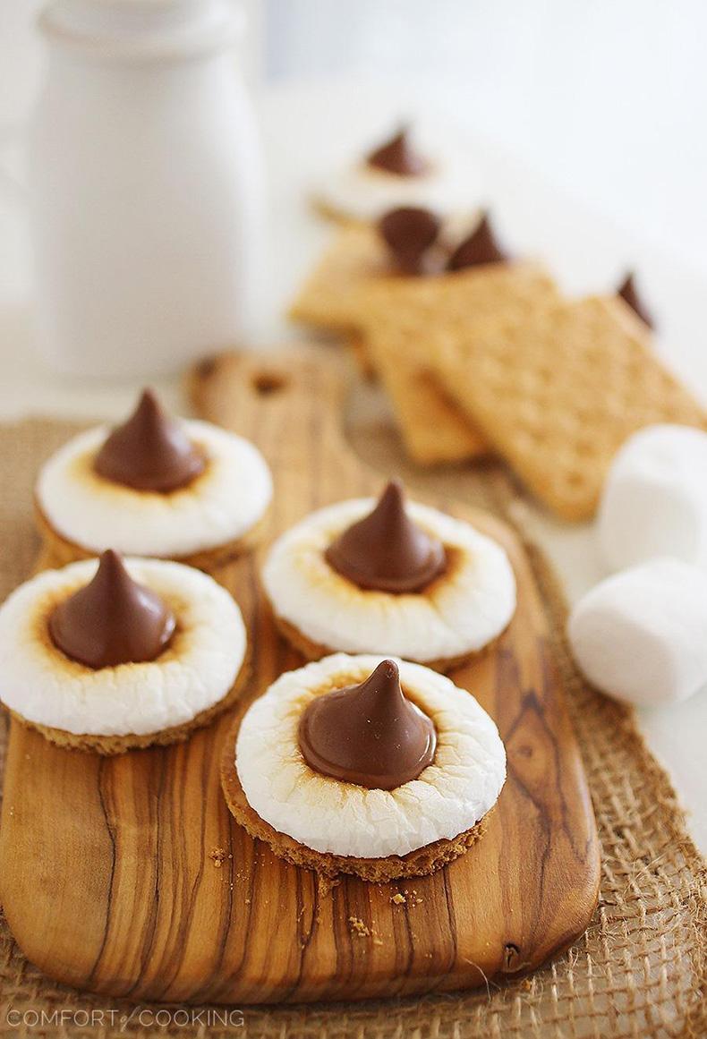 3+Ingredient+S'mores+Cookie+Bites
