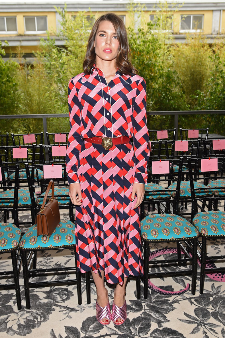 Charlotte-Casiraghi-Front-Row-SummerSpring-2016-Gucci-Show