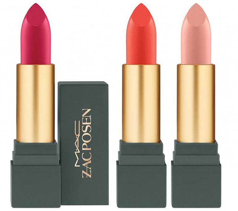 MAC-Cosmetics-x-Zac-Posen-Lipstick-Darling-Clementine-Dangerously-Red-Sheer-Madness
