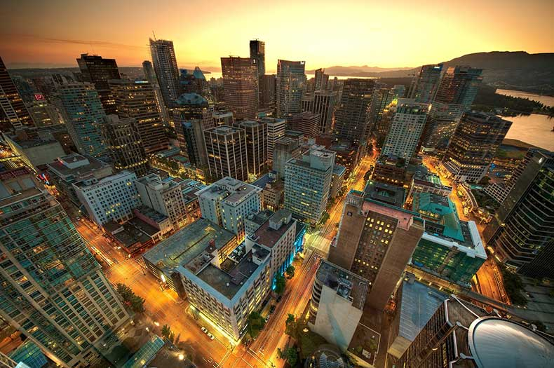 Vancouver-at-Sunset