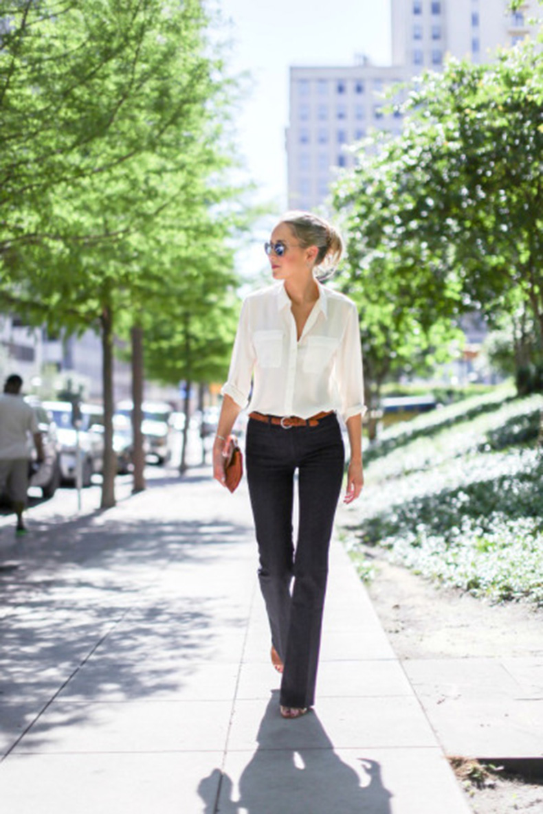 b-mih-denim-flare-leg-dark-blue-jeans-business-casual-work-wear-70s-style
