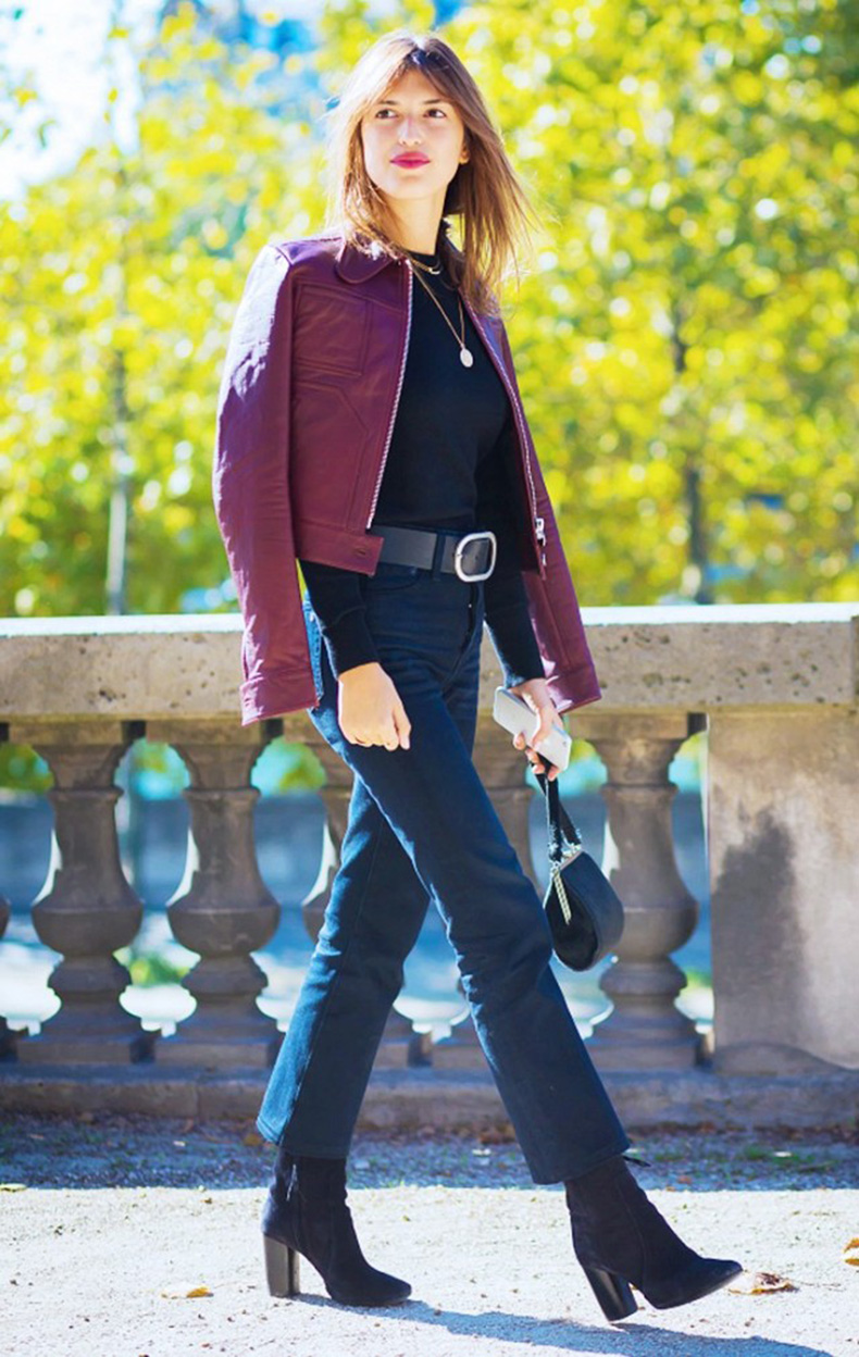 cropped-pants-booties-belted-burgundy-leather-jacket-mockneck-turltneck-fall-outfits-style-du-monde-colored-leather