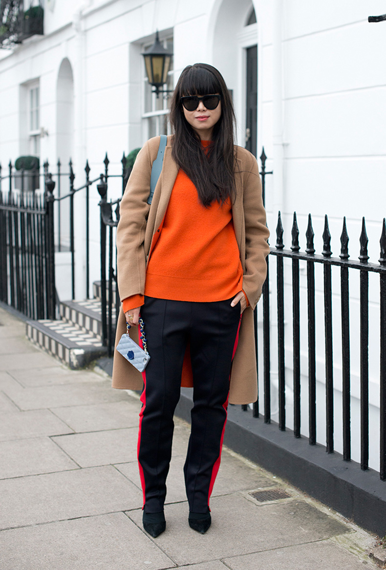 how-to-wear-orange-outfit-leaf-greener-2