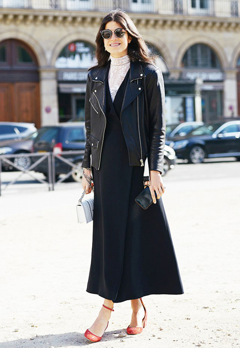 street-style-turtleneck-dress