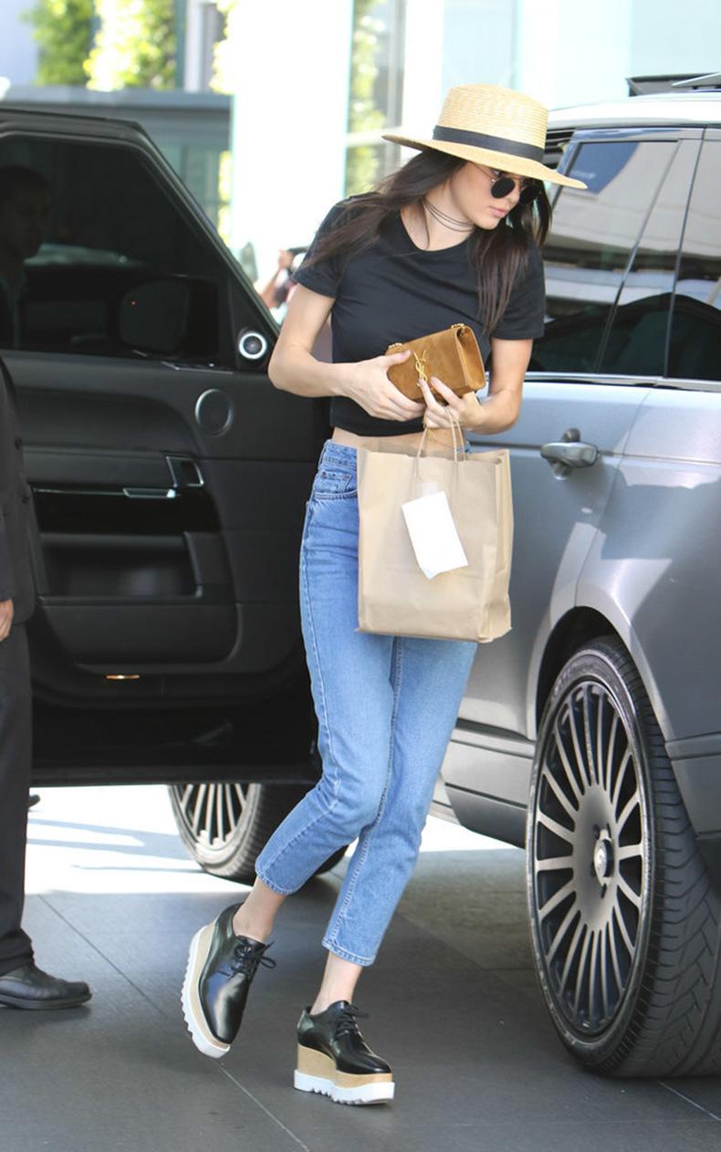 Kendall-Jenner-Wearing-Stella-McCartney-Shoes