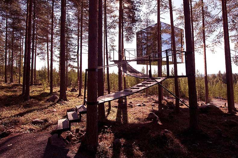 Mirrorcube-Harads-Sweden