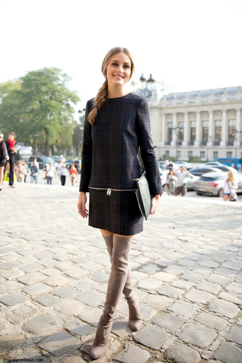 PFW-STREET-STYLE-SHIFT-DRESSES-OVER-THE-KNEE-BOOTS-2
