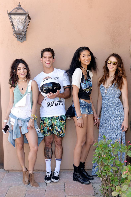 Vanessa-Hudgens,-Tyler-Posey,-Chanel-Iman,-Troian-Bellisario